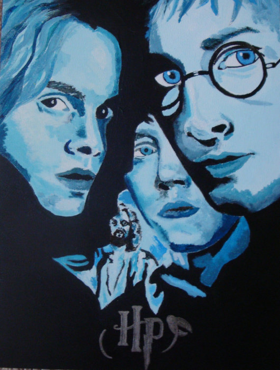 Potter acrylic painting