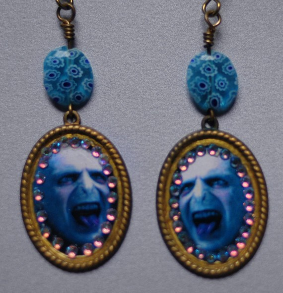 valdemort earrings