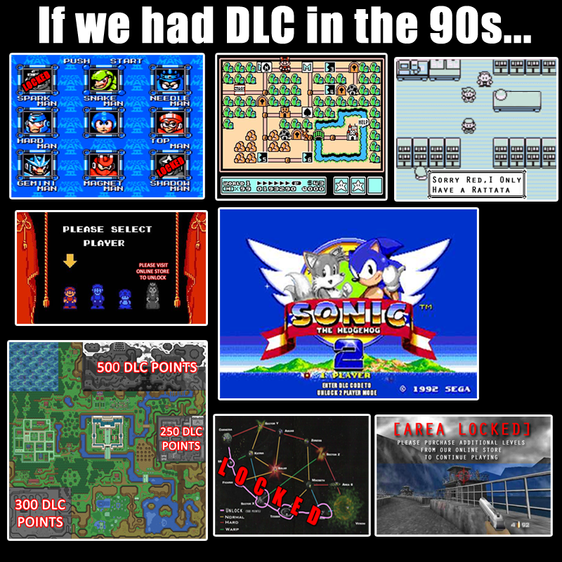 DLC in the '90s