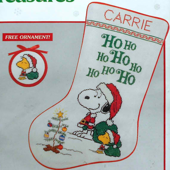 Etsy for peanuts for Charles craft christmas stockings
